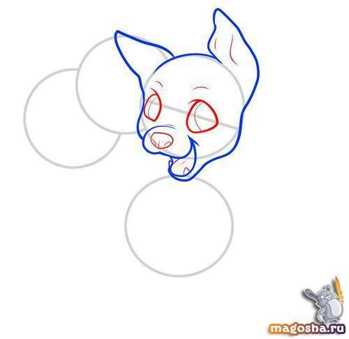 Как нарисовать малышей церберов
