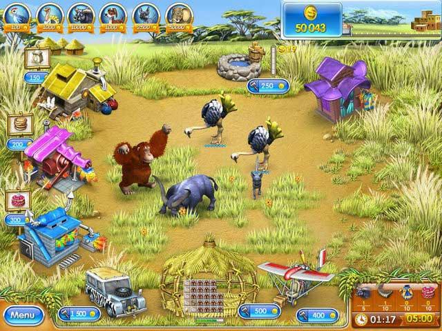 Farm Frenzy 3 - Madagascar ภาพตัวอย่าง 03