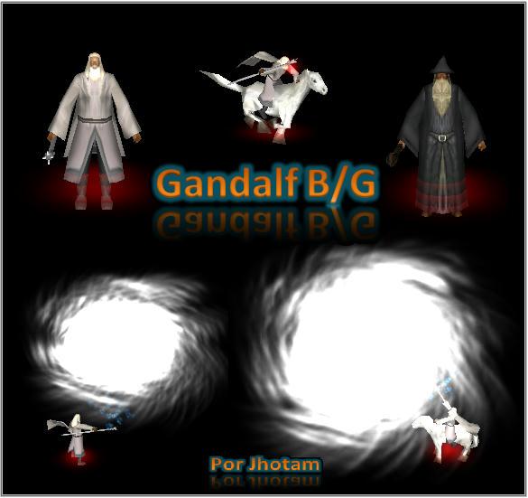 Gandalf G y B _ Por Jhotam J8hn4sm4bn55n59fg