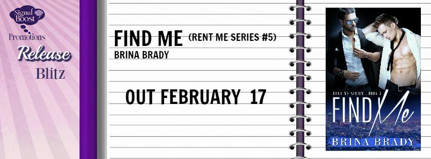 Brina Brady - Find Me RB Banner