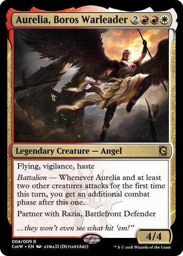 Aurelia, Boros Warleader