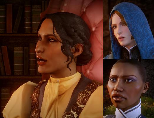 Fashion police: Josephine, Leliana, Vivienne