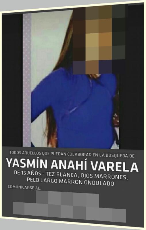 Continúa búsqueda de Yasmín Varela otra adolescente desaparecida