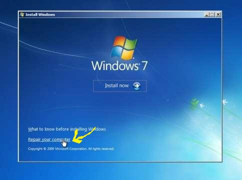 how to get into a windows pc without password