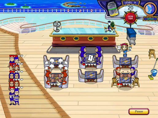 Diner Dash - Flo on the Go ภาพตัวอย่าง 01