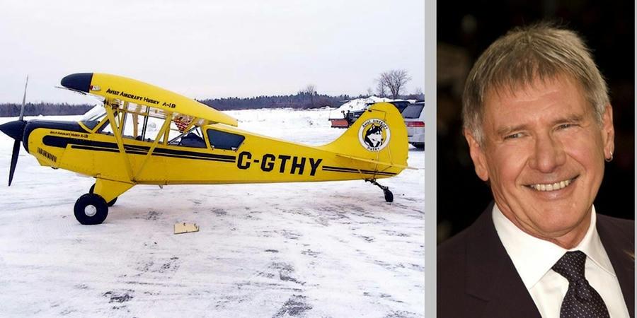 Harrison Ford sufre percance aéreo con avión de pasajeros