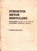 Struktur Beton Bertulang berdasarkan SK SNI T-15-1991-03