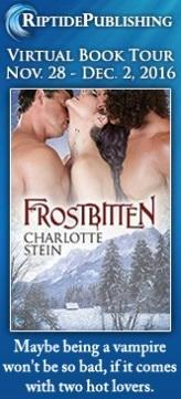 Charlotte Stein - Frostbitten Badge