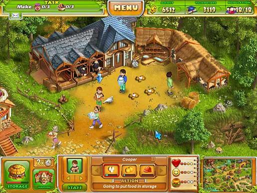 Farm Tribe 2 ภาพตัวอย่าง 01