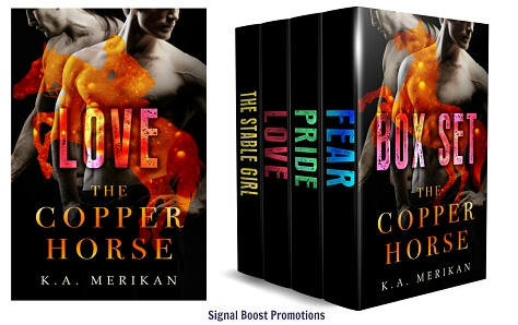K.A. Merikan - The Copper Horse Banner