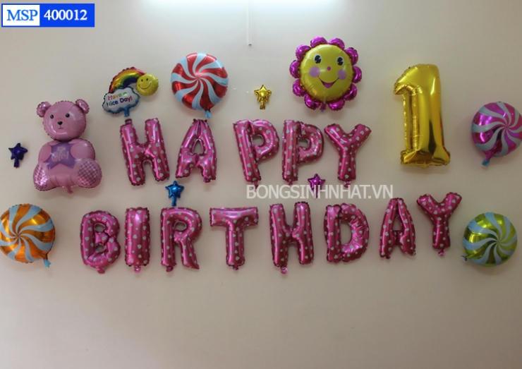 Bóng sinh nhật giá rẻ Hà Nội.