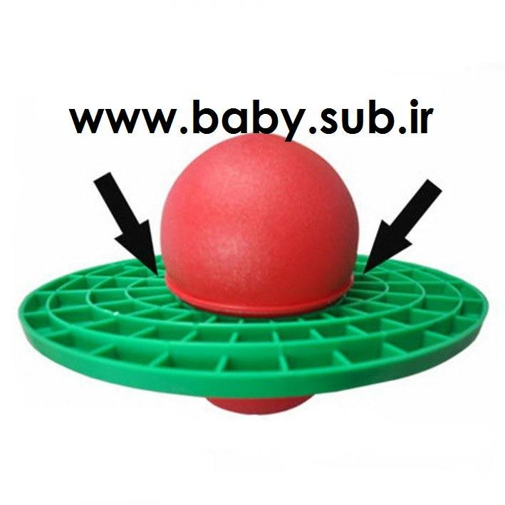 توپ پرشی برای تناسب اندام bouncing fitness jump ball