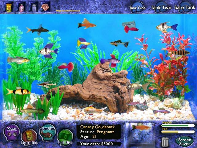 Fish Tycoon ScreenShot01