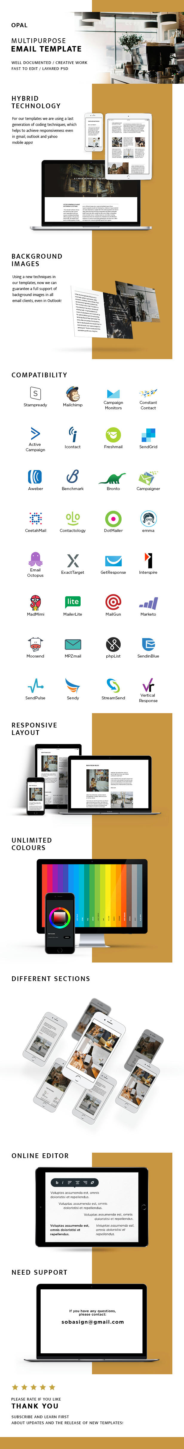 Preview opal – responsive email + stampready builder & mailchimp (email templates) Opal – Responsive Email + StampReady Builder & Mailchimp (Email Templates) w6f5wlbweaf78cdzg