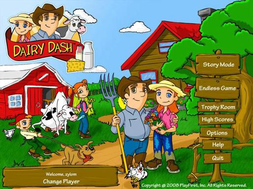 Dairy Dash ภาพตัวอย่าง 01