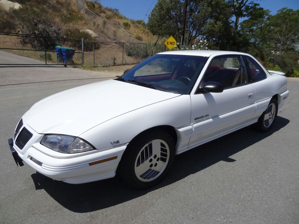 Sell Used 2 Owner 93 Pontaic Grand Am Se Sport Coupe 53k