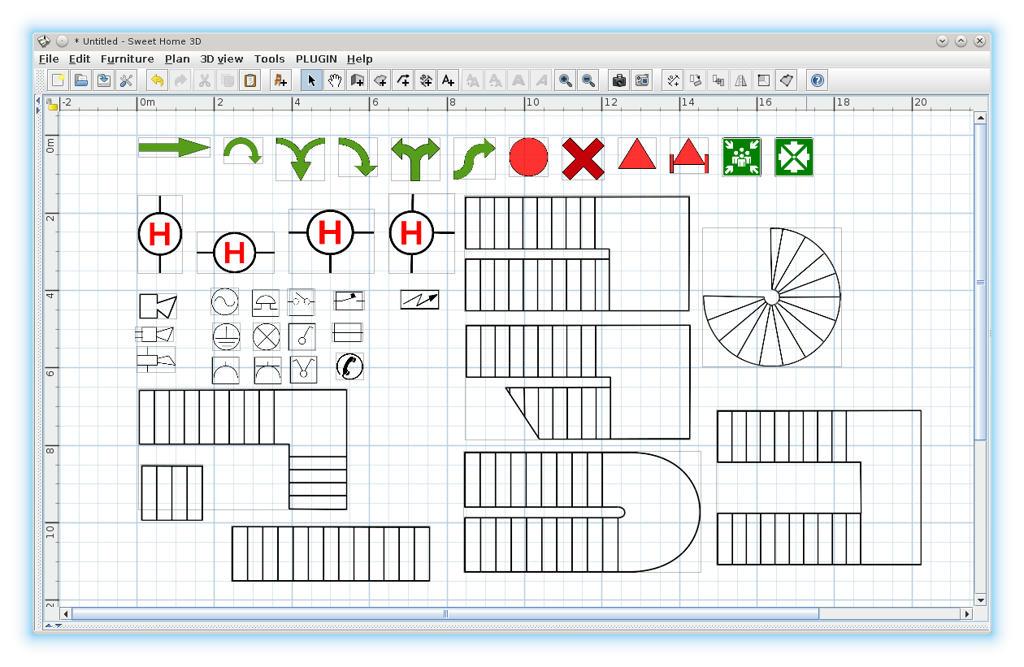 Home 3d forum view thread 2d symbols on sweet home 3d plan erstellen