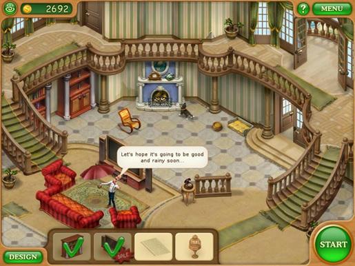 Gardenscapes - Mansion Makeover ภาพตัวอย่าง 01
