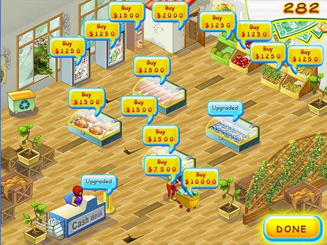 Supermarket Mania ภาพตัวอย่าง 01