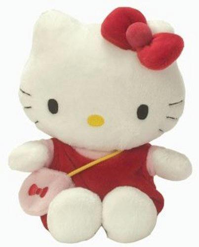 Peluche hello kitty originale licenza pupazzo cartoni