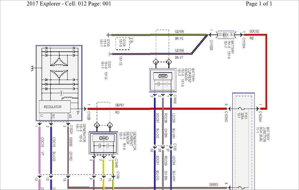 Ford Explorer 2017 Wiring Diagram