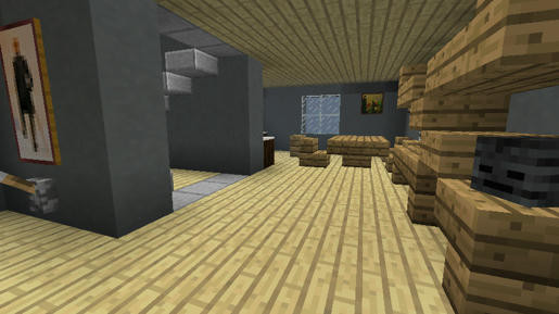 Gradini Di Legno Minecraft : Screenshots casa moderna screenshot e video minecraft italia