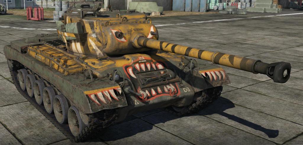 m46 tiger war thunder