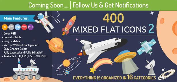 400 Mixed Icons 2