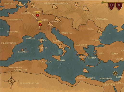 Rush on Rome ภาพตัวอย่าง ๒