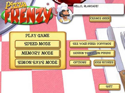 Pizza Frenzy ภาพตัวอย่าง 01