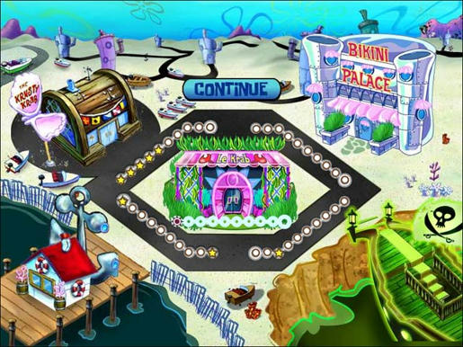 SpongeBob SquarePants Diner Dash ภาพตัวอย่าง 02