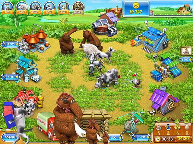 Farm Frenzy 3 - Russian Roulette ภาพตัวอย่าง 02