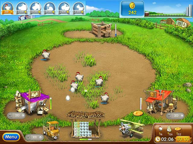 Farm Frenzy 2 ภาพตัวอย่าง 01