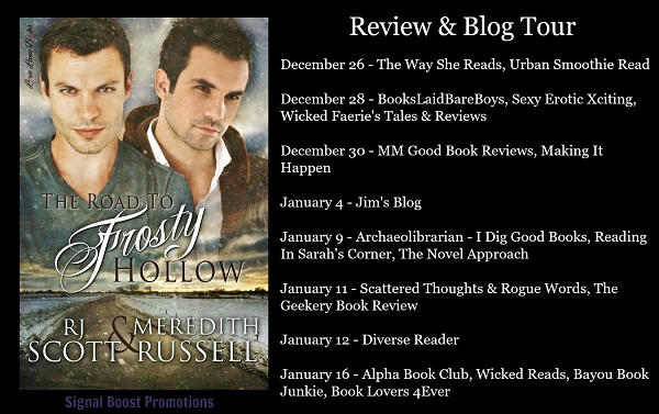 R.J. Scott & Meredith Russell - The Road to Frosty Hollow Blog Banner
