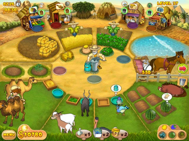 Farm Mania - Hot Vacation ภาพตัวอย่าง 01