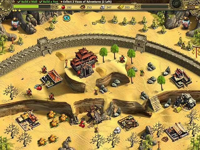 Building the Great Wall of China ภาพตัวอย่าง 01