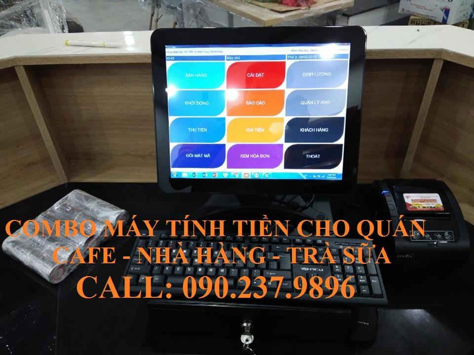 Bán máy tính tiền cho quán cafe giá rẻ tại Tiền Giang