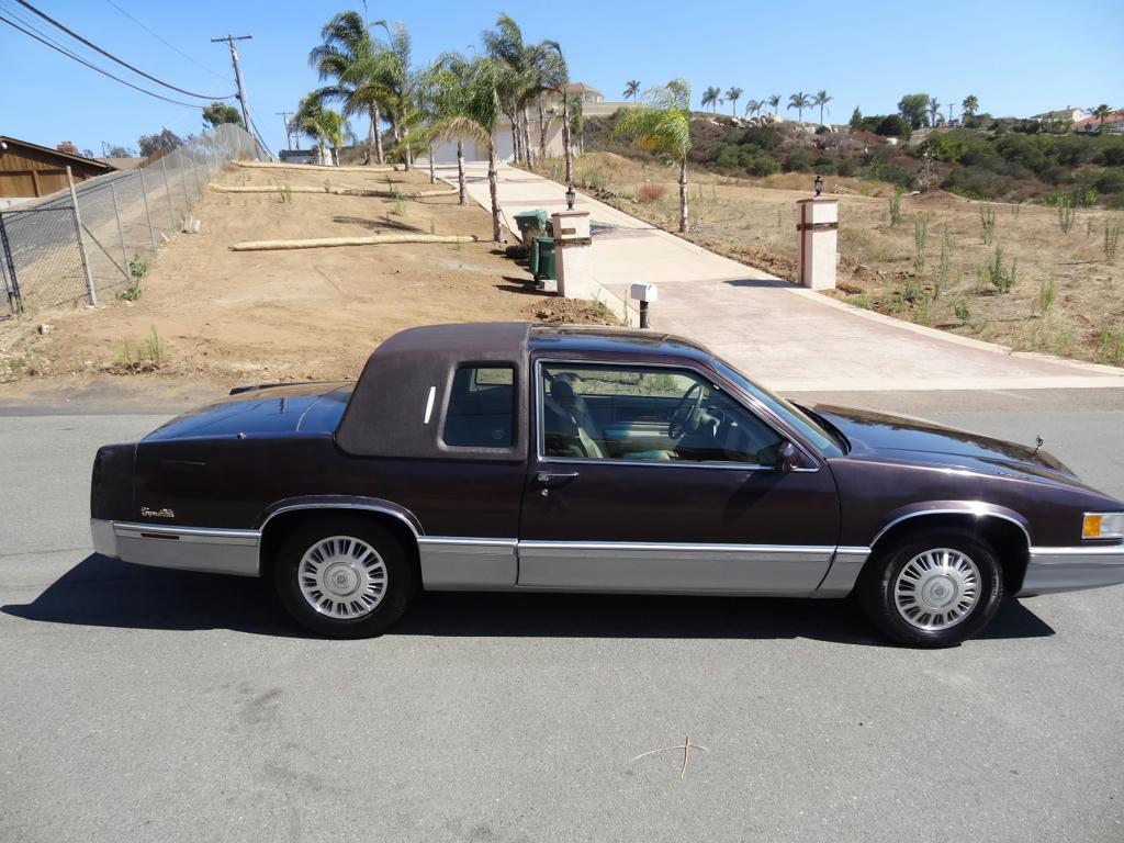 buy used 2 owner cadillac coupe deville sedan 4 9l v8 85k original miles de ville dts etc in san. Black Bedroom Furniture Sets. Home Design Ideas