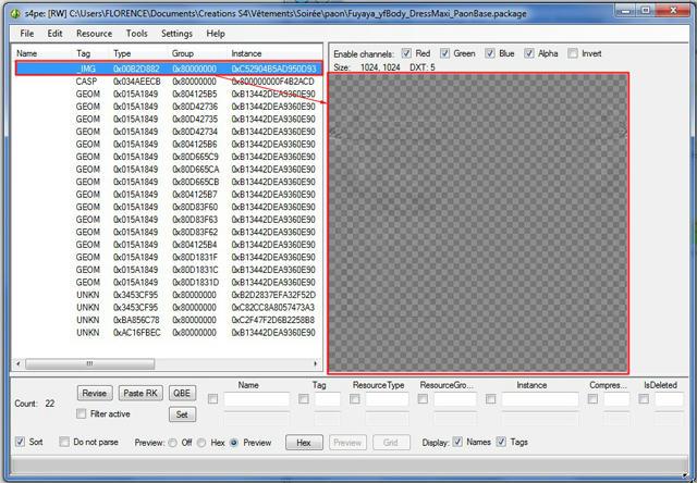 [Apprenti] Cloner avec TS4 Mesh tools : exemple d'un vêtement  7u1n2hkd95g8o87zg