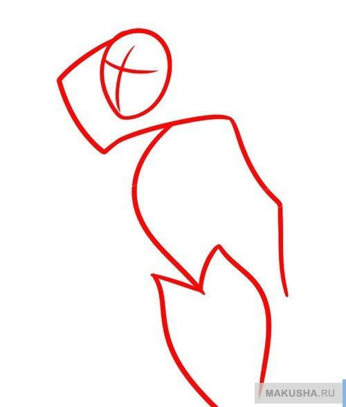 Как рисовать девушку гота
