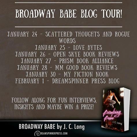 J.C. Long - Broadway Babe BT Banner