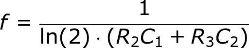 Công thức tính tần số mạch đa hài dùng transistor