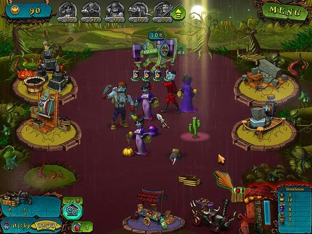 Vampires vs Zombies ภาพตัวอย่าง 03