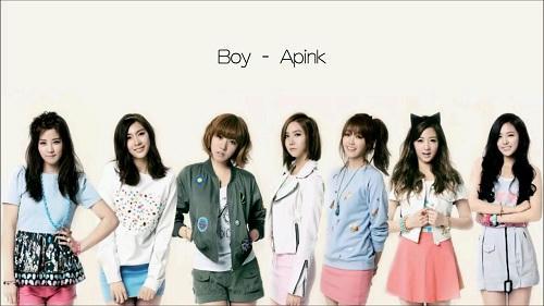 apink boy