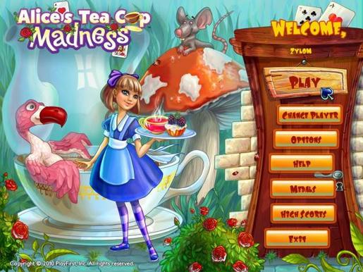 Alice's Tea Cup Madness ภาพตัวอย่าง 01