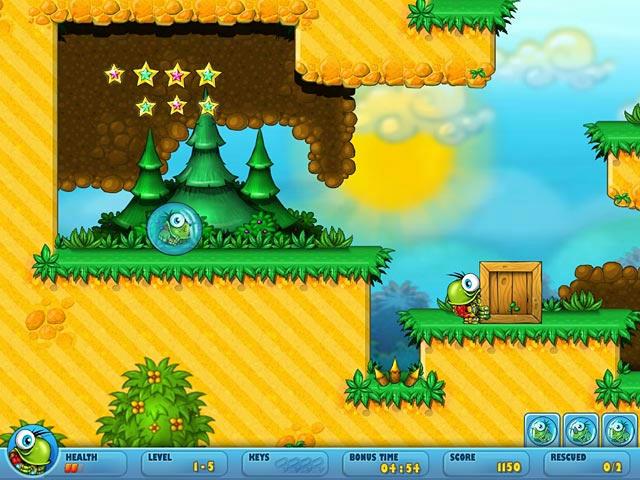 Turtix 2 - Rescue Adventures ScreenShot01