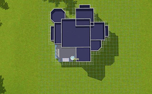 [Débutant] - Du carré à la maison victorienne - La maison bleue 84zt5kro1364k1hzg