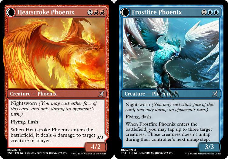 Heatstroke Phoenix (Frostfire Phoenix)