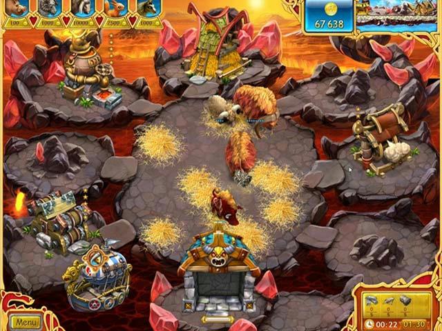Farm Frenzy - Viking Heroes ภาพตัวอย่าง 01