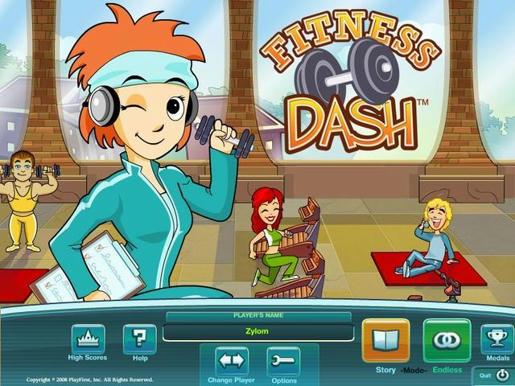 Fitness Dash ภาพตัวอย่าง 01